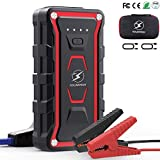 Flylinktech Car Jump Starter, 1500A Peak 20000mAh Auto Battery Booster