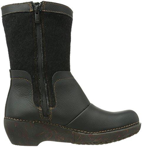 Schwarz Nc73 black Damen Stiefel Tricot Naturalista El YXwqR5A5
