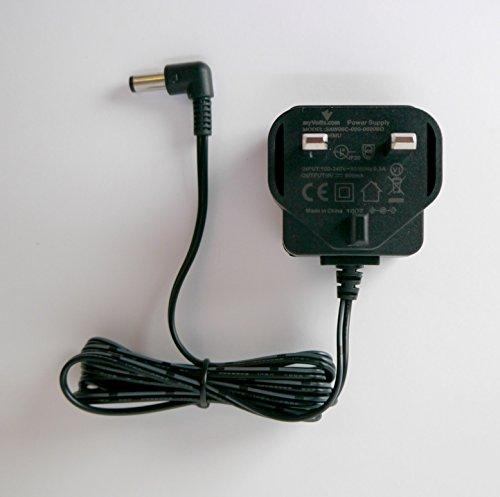 MyVolts Cargador 9V compatible con Pedal de Efectos Fulltone Mini-Deja Vibe 2 (Fuente de alimentación) - enchufe español