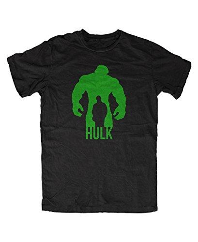 Artshirt-Factory Hulk Comic T-Shirt (XL, Schwarz) (Hulk Shirt Für Herren)