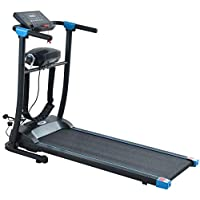 Electric treadmill with built-in massage