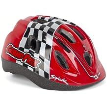 Spiuk Kids - Casco de ciclismo para niños, color rojo, talla 52 - 56