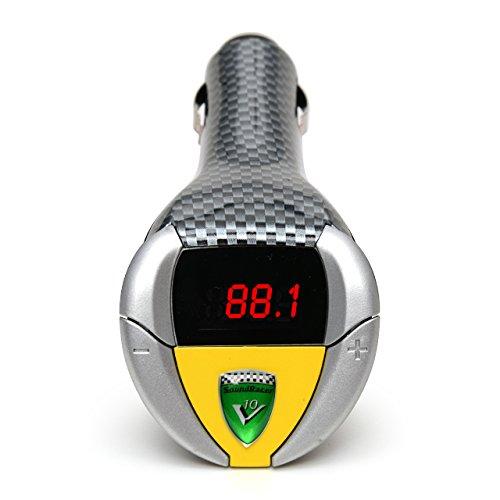 SoundRacer GH-SRV10 Transmetteur FM avec écran LCD pour Lamborghini Gallardo