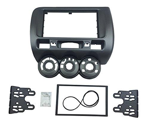 DKMUS DKM016HO Doppio Din Stereo Kit di Installazione Adattatore Fascia Ruota Sinistra