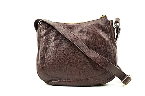 The Bridge Plume Soft Donna Borsa a tracolla pelle 32 cm Marrone
