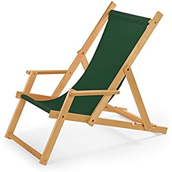 N 10 chaise longue en bois jardin for Chaise longue jardin amazon