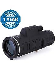 Shaarq Panda 35x50 Zoom Mini Telescope monocular hd Telescope Hunting Binoculars Outdoor Military telescopes
