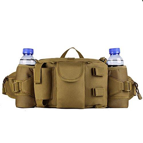 Multifunktion Gürteltasche Hüfttasche Sports Taschen Wandern Reisetasche Outdoor (khaki) khaki
