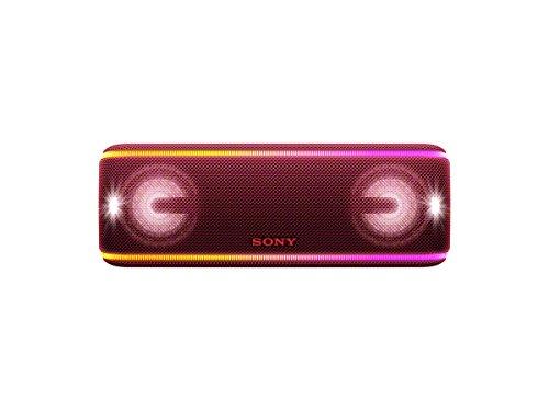 Sony SRS-XB41 Enceinte portable sans fil Bluetooth Waterproof avec effets lumière - Rouge