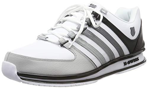 K-Swiss Herren Rinzler SP Sneaker, Weiß (White/Black/Gradient 118), 42 EU