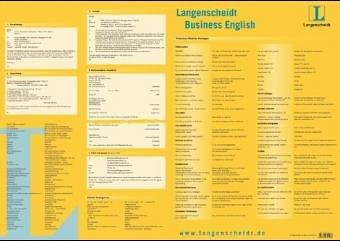 Langenscheidt Business English, Schreibtischunterlage