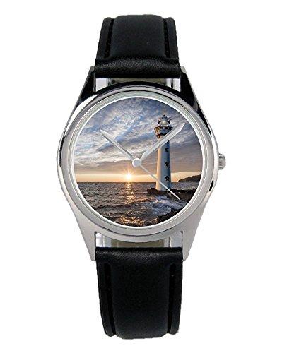 Leuchtturm Meer Geschenk Fan Artikel Zubehör Fanartikel Uhr B-2789