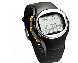 Nimble House ® ™Sport Pulse sensor watch with Heart Rate Monitor Calories Counter Fitness LED , Digital Screen Resin Strap