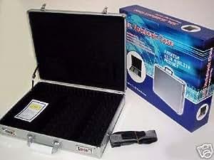 Leopard Malette aluminium pour ordinateur portable 17 pouces ou 15 pouces