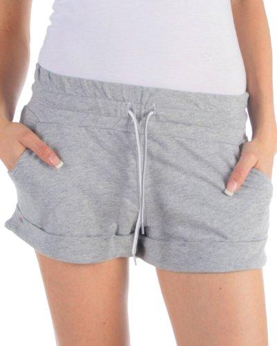 Bench Damen Hose BLLA0032 Small grey marl (mit Taschen)