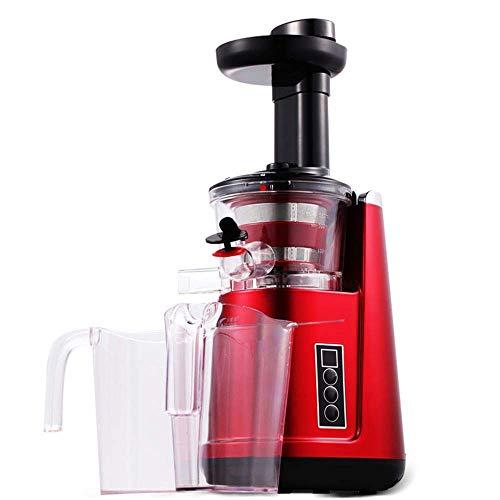 HSRG Juicer de Baja Velocidad del hogar, exprimidor de Las Frutas y de los vehículos de múltiples Funciones, Separador de Jugo de Cocina de Baja Velocidad eléctrico