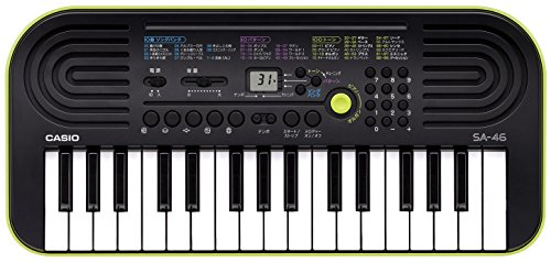 casio sa-46 32 mini keys musical keyboard (black/green) Casio SA-46 32 Mini Keys Musical Keyboard (Black/Green) 41YN7eqW2gL