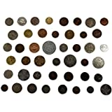 Novelty Collections 45 World Coins (All Different) from Minimum 22 Countries