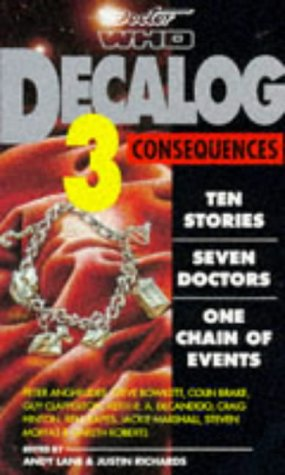 Cover of Decalog 3  Consequences (Dr Who)