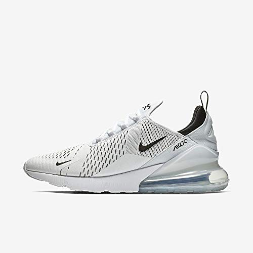 buy online 1e309 10fbe Nike Air MAX 270, Zapatillas de Gimnasia para Hombre, Blanco Black/White  100, 44 EU