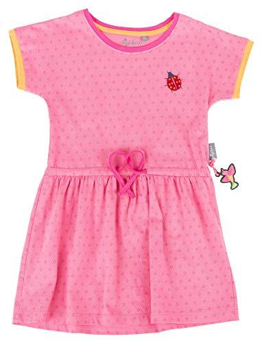 Sigikid Mädchen, Mini Kleid, Rosa (Aurora Pink 686), (Herstellergröße: 122)