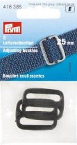 Prym Leiterschnalle 25 mm schwarz 2 St