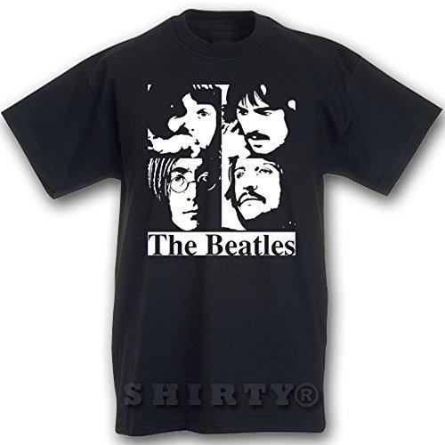 The Beatles 2 - T Shirt - schwarz - S bis 5XL - 093 Schwarz