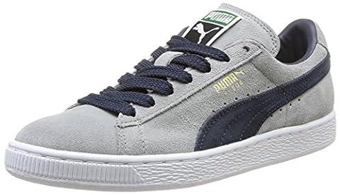 Puma, Sneakers Basses mixte adulte, Gris (Limestone/Navy/White/Gold), 40 EU