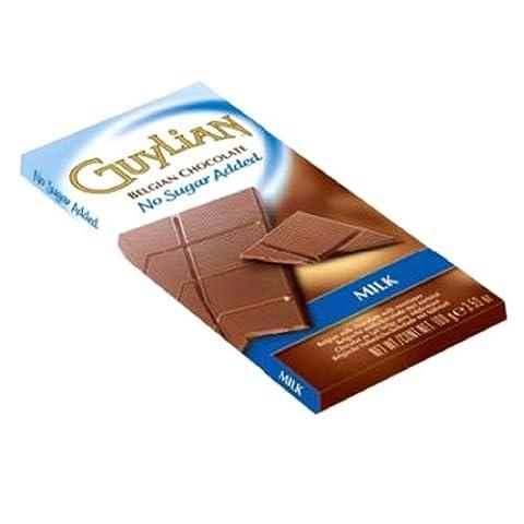 Guylian No Added Sugar Milk Belgian Chocolate 100g