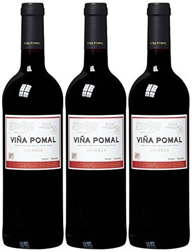 Viña Pomal Vino Rioja Crianza 75cl 14º (Pack de 3)