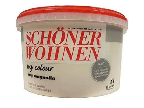 Schöner Wohnen - my colour Wandfarbe matt - 9125 My Magnolia, 5 L