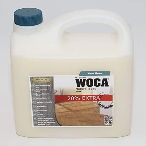 WOCA 511030A Holzbodenseife Natur 3 Liter -