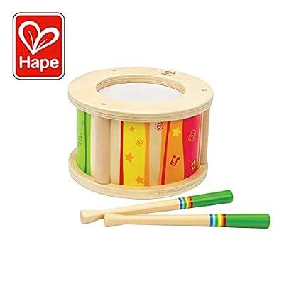 Hape HAP-E0303 - Tambor de juguete de Hape