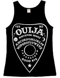 The Dead Generation Ouija planchette Ladies Vest Top - Gothic Occult Clothing For Women by Luna Cult