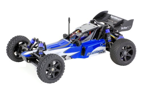 XCiteRC 30301000 rC voiture sandStorm one 10–2WD ready to race dune brushless 1:10 009547 buggy avec télécommande 2,4 gHz bleu