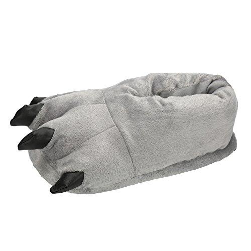 (LATH.PIN Unisex Puschen Plüsch Hausschuhe Pantoffeln Kostüme Tierhausschuhe Geschenkidee)