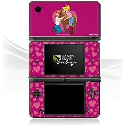 Nintendo DSi XL Case Skin Sticker aus Vinyl-Folie Aufkleber Bibi und Tina Fanartikel Merchandise Paulchen ist der Größte
