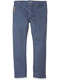 NAME IT Jungen Hose Nittimber Slim/Xsl Dnm Chino Nmt Noos