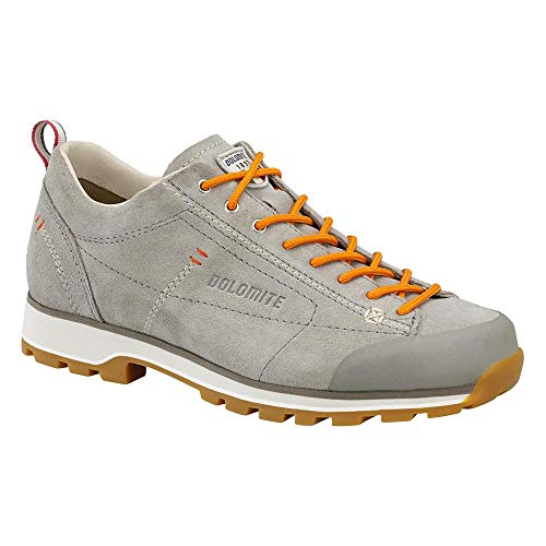 Dolomite Unisex-Erwachsene Zapato Cinquantaquattro Low W Trekking-& Wanderhalbschuhe, Grauer Tortora/Lachs, 42 EU