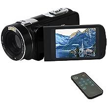Camcorder Digital videokamera Videorecorder FHD 1080p 24MP Schönheit Gesicht Kamera HDMI Ausgang mit Fernbedienung