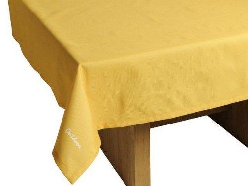 haga-wohnideen.de Outdoor TISCHDECKE St. Tropez gelb Gartentischdecke Gartentisch Tisch Decke abwaschbar 140cmx240cm