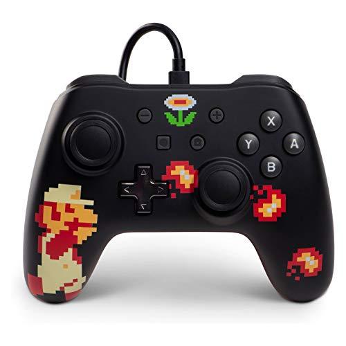PowerA Controller für Nintendo Switch, Retro-8-Bit Super Mario