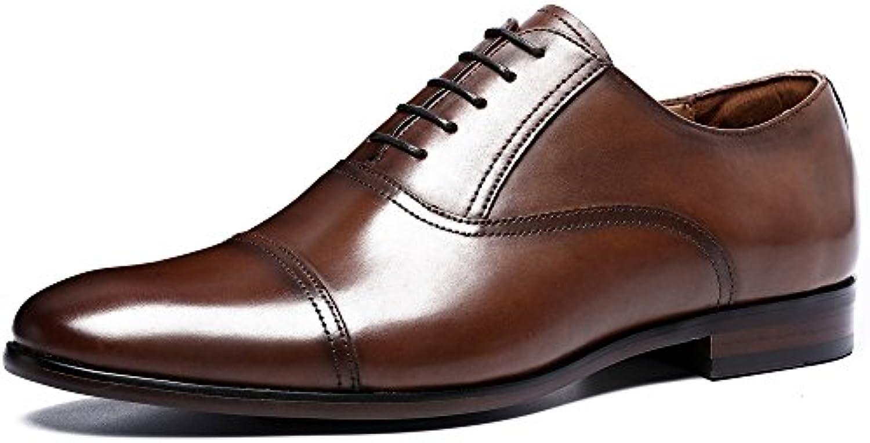 Desai Zapatos con Cordones de Cuero Hombre -