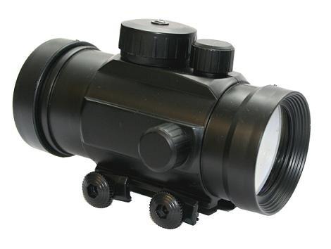 g8ds® Leuchtpunktvisier für Softairwaffen und Armbrüste Red Dot Rotpunkt - Leuchtpunkt - Visier mit 22 mm Weaver -