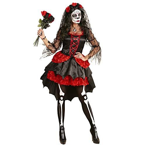 Womens Braut Kostüm Tote - Widmann 06113 Erwachsenen Kostüm Dia De Los Muertos Braut, womens, L
