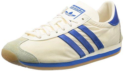 Uomo scarpa sportiva, colore Bianco , marca ADIDAS ORIGINALS, modello Uomo Scarpa Sportiva ADIDAS ORIGINALS COUNTRY OG Bianco White/Bluebird/White