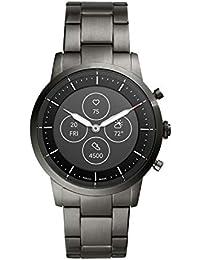 Fossil Collider Hybrid Hr Smartwatch Black Dial Men's Watch - FTW7009