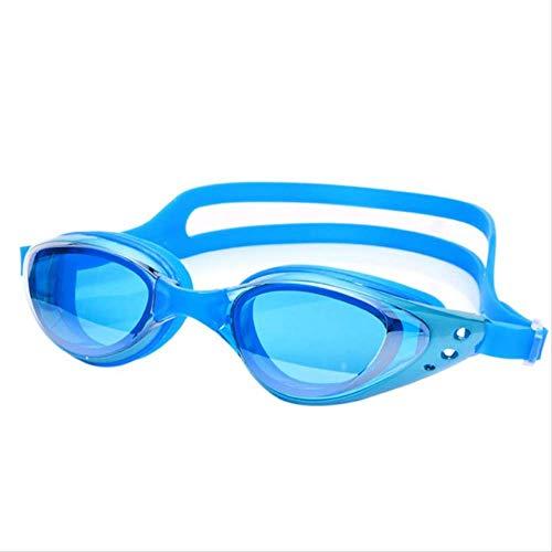 yingteng Erwachsene Schwimmbrille der Frauen der heißen Qualitätsmänner Anti-Nebel-wasserdichte Schauspiel-Schwimmen-Schutzbrille neues Himmelblau