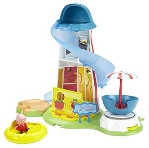 peppa pig theme park helter skelter toboggan en. Black Bedroom Furniture Sets. Home Design Ideas