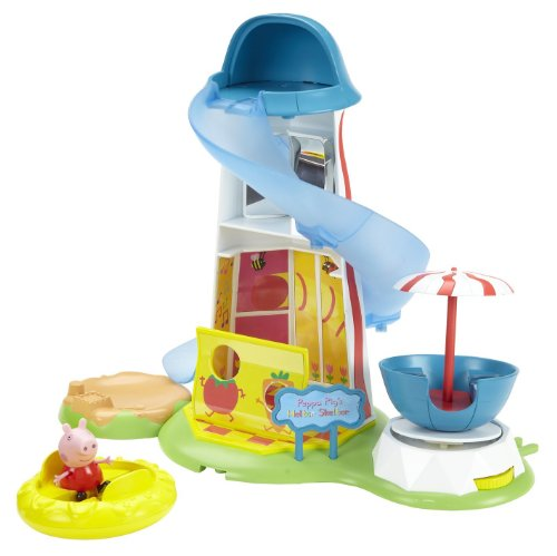 Peppa Pig - Playset con tobogán (Character Options)